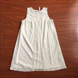 Xhiliration white lace sundress